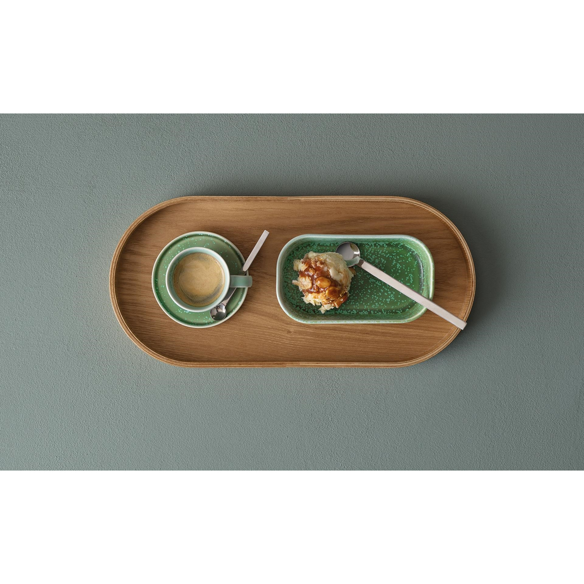 Dřevěný tác SONOKO oválný 35,5x16,5 cm_2