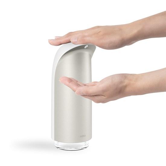 Dávkovač na mýdlo EMPEROR (325 ml)bílý, niklový_0
