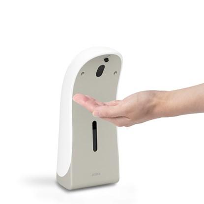 Dávkovač mýdla automatický EMPEROR AUTO SOAP DISP (355 ml) bílý, niklový_0