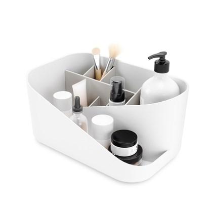 Organizér na kosmetiku GLAM bílý, šedý_0
