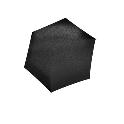 Deštník Umbrella Pocket Mini signature black hot print_1