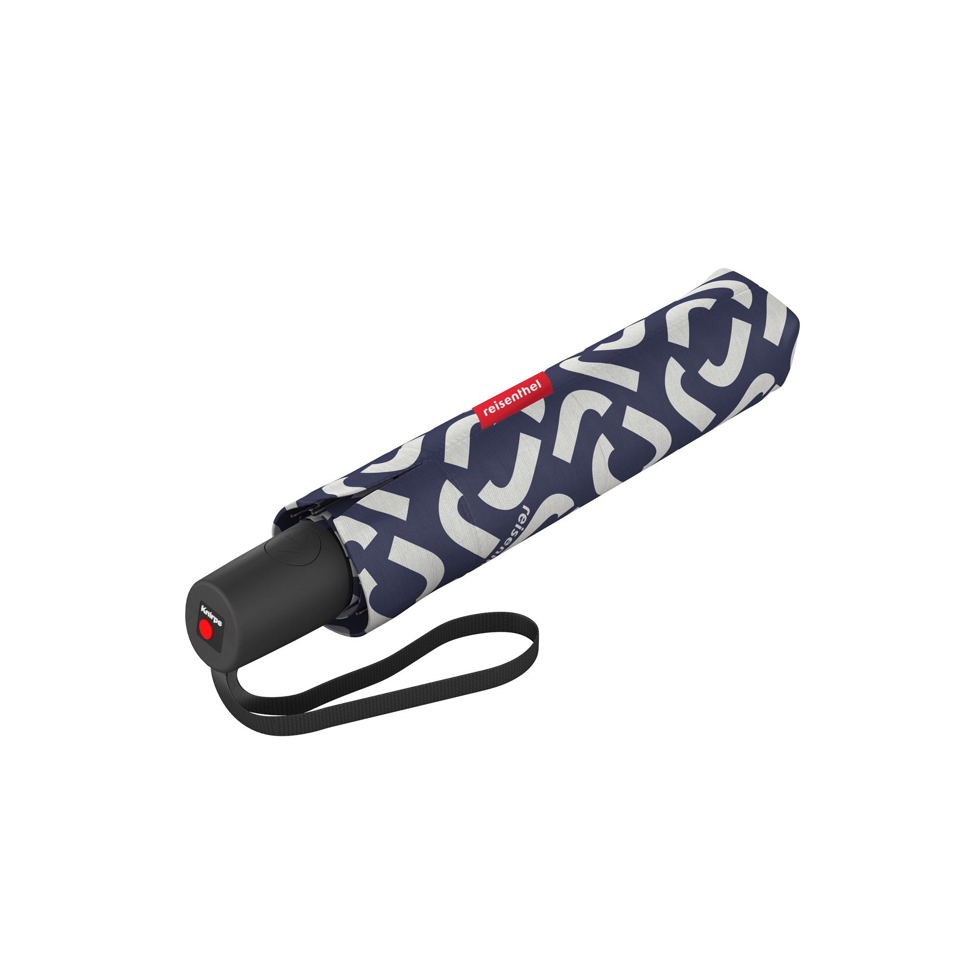 Deštník Umbrella Pocket Duomatic signature navy_0
