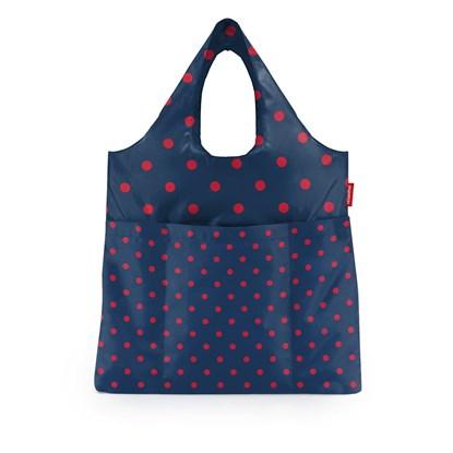 Skládací taška Mini Maxi Shopper plus mixed dots red_0