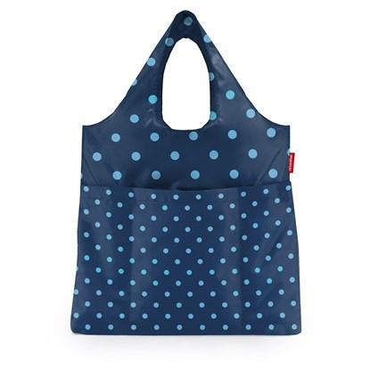 Skládací taška Mini Maxi Shopper plus mixed dots blue_0