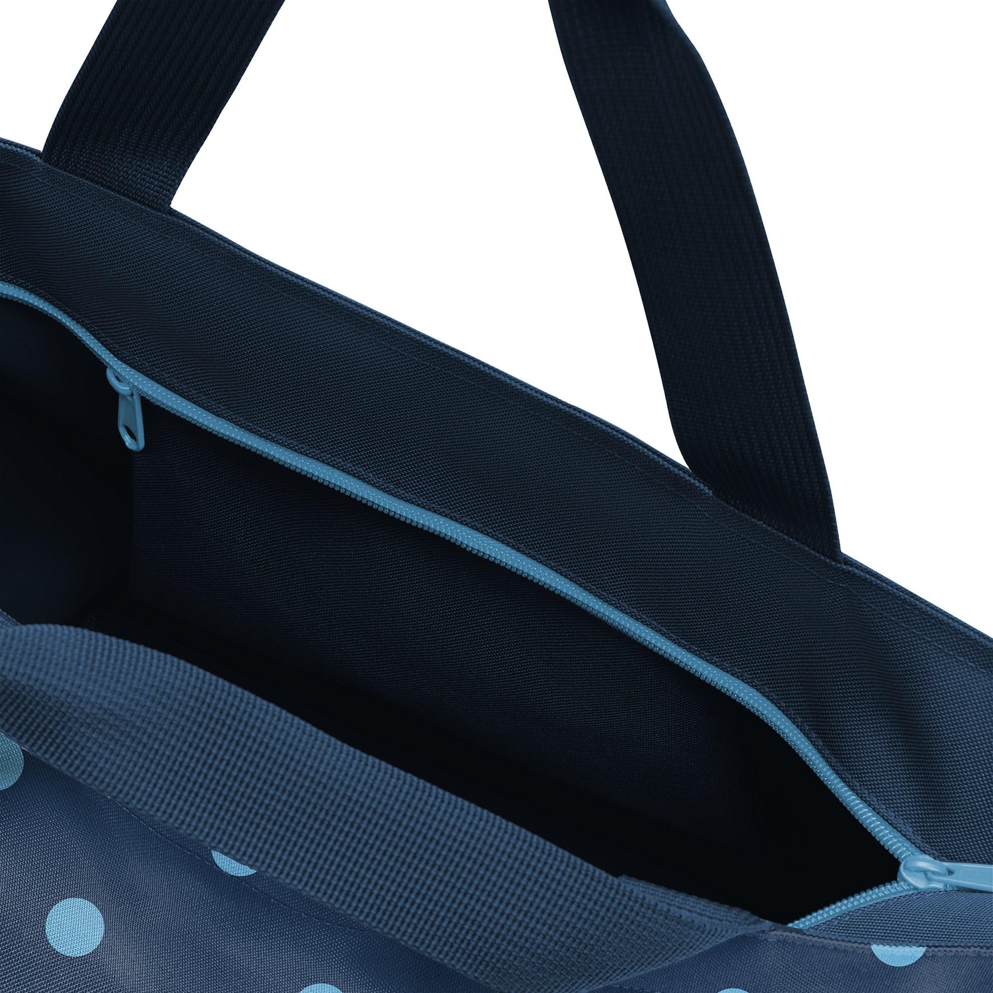 Nákupní taška Shopper M mixed dots blue_0