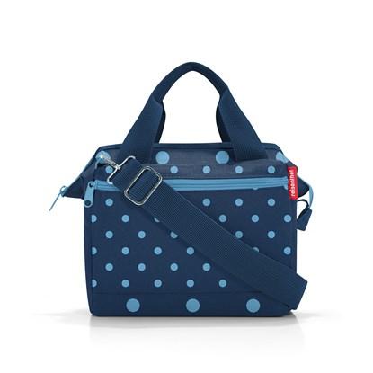Taška přes rameno Allrounder Cross mixed dots blue_1