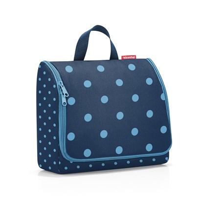 Kosmetická taška Toiletbag XL mixed dots blue_2