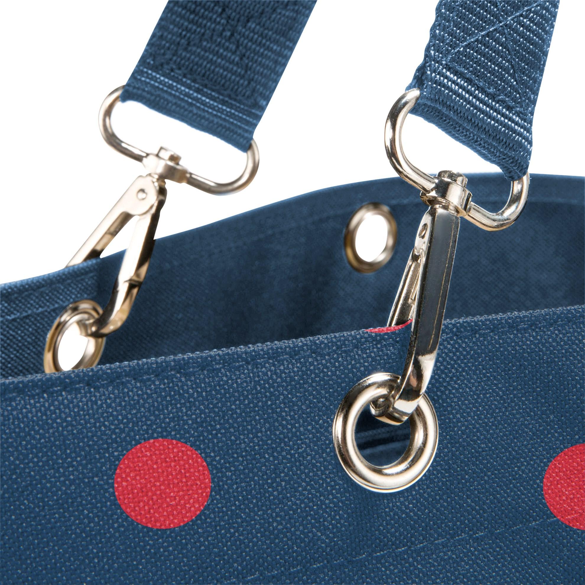 Nákupní taška Shopper XL mixed dots red_0
