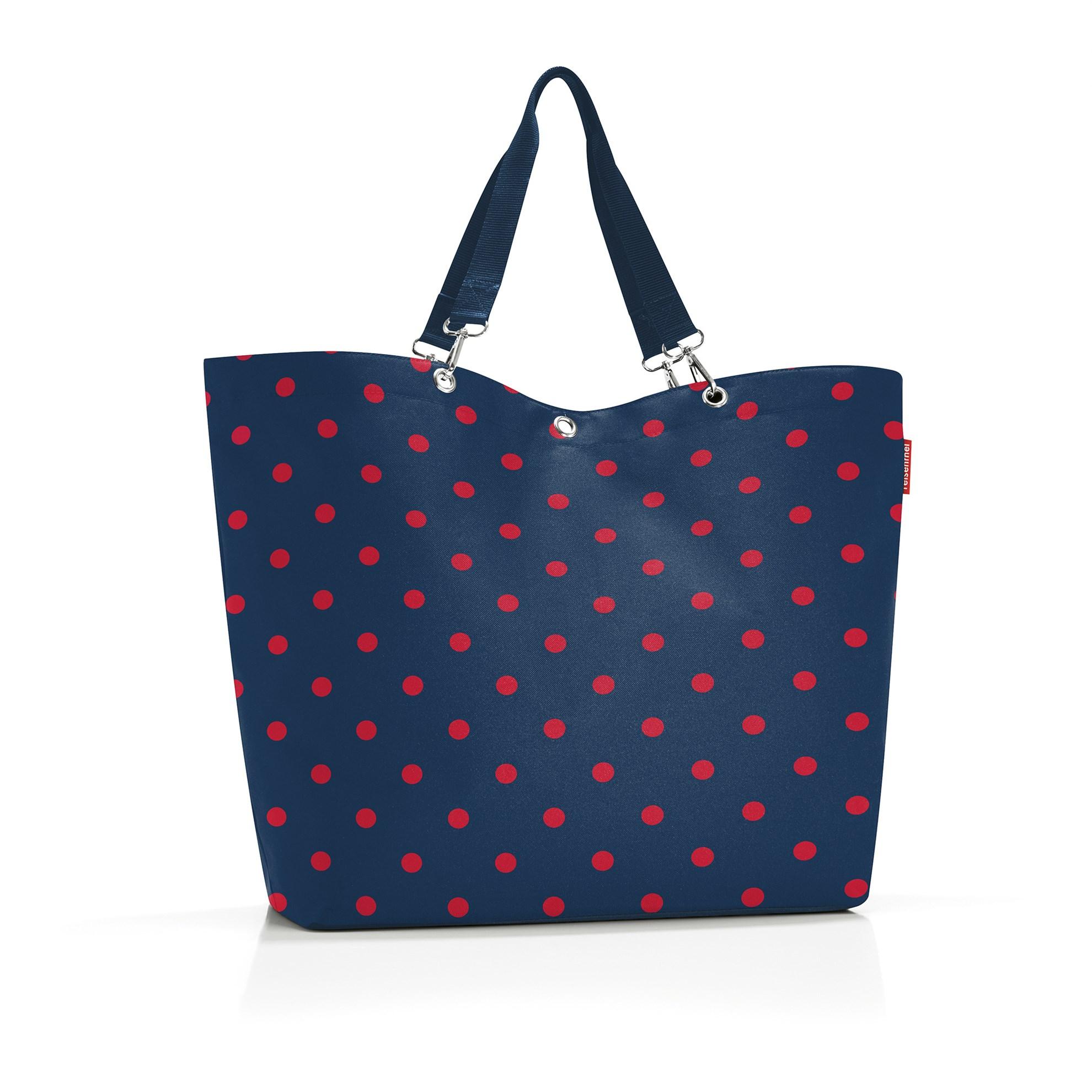 Nákupní taška Shopper XL mixed dots red_1