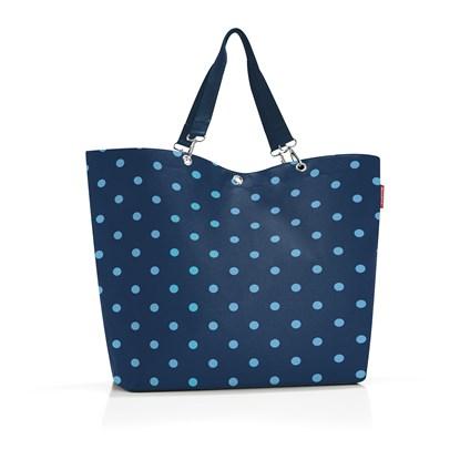 Nákupní taška Shopper XL mixed dots blue_1