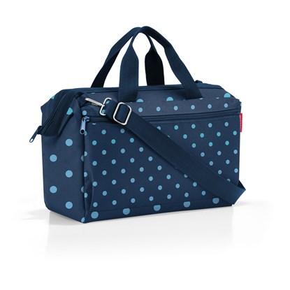 Cestovní taška Allrounder S pocket mixed dots blue_2