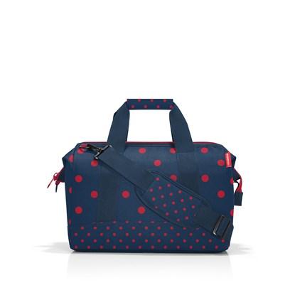 Cestovní taška Allrounder M mixed dots red_2