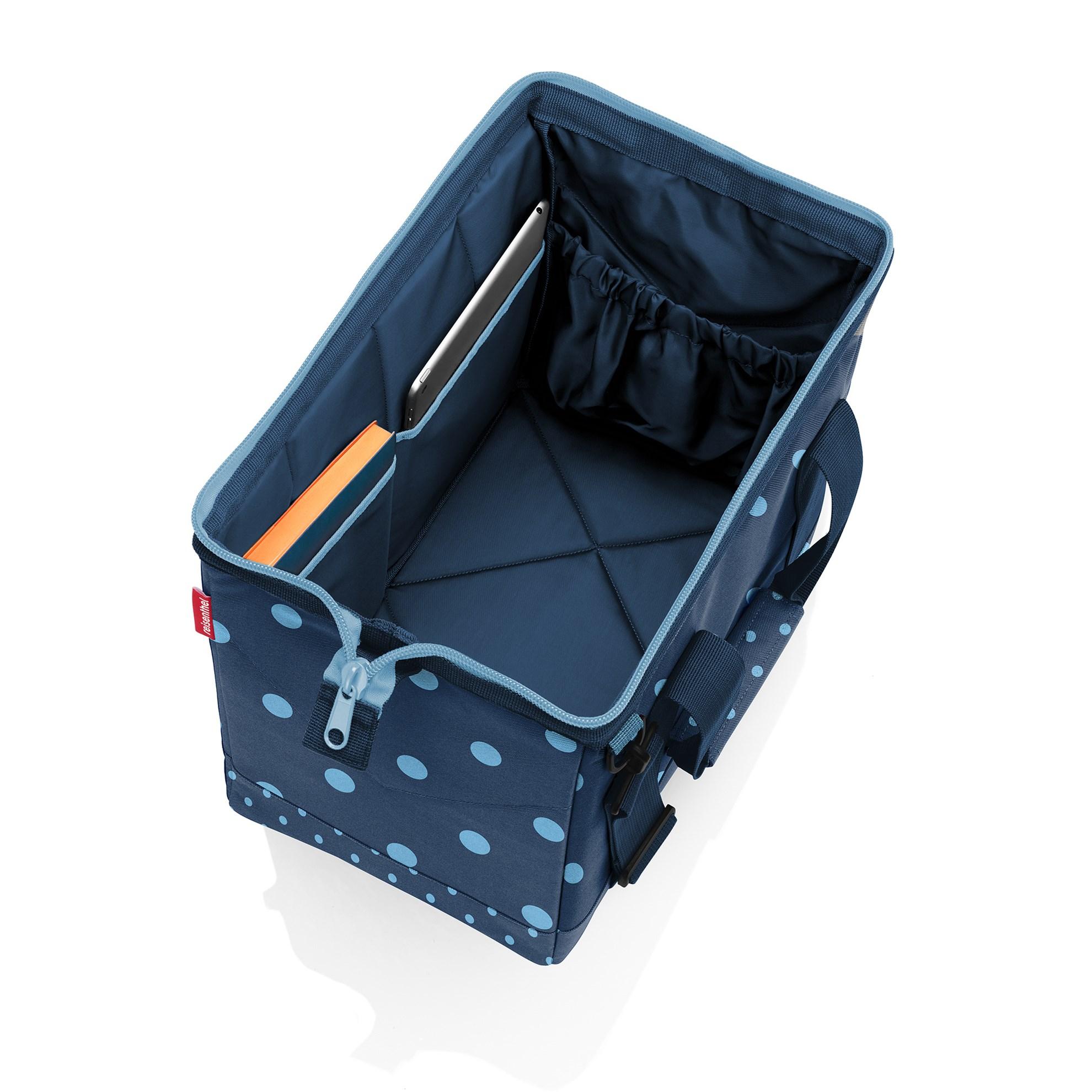 Cestovní taška Allrounder M mixed dots blue_0