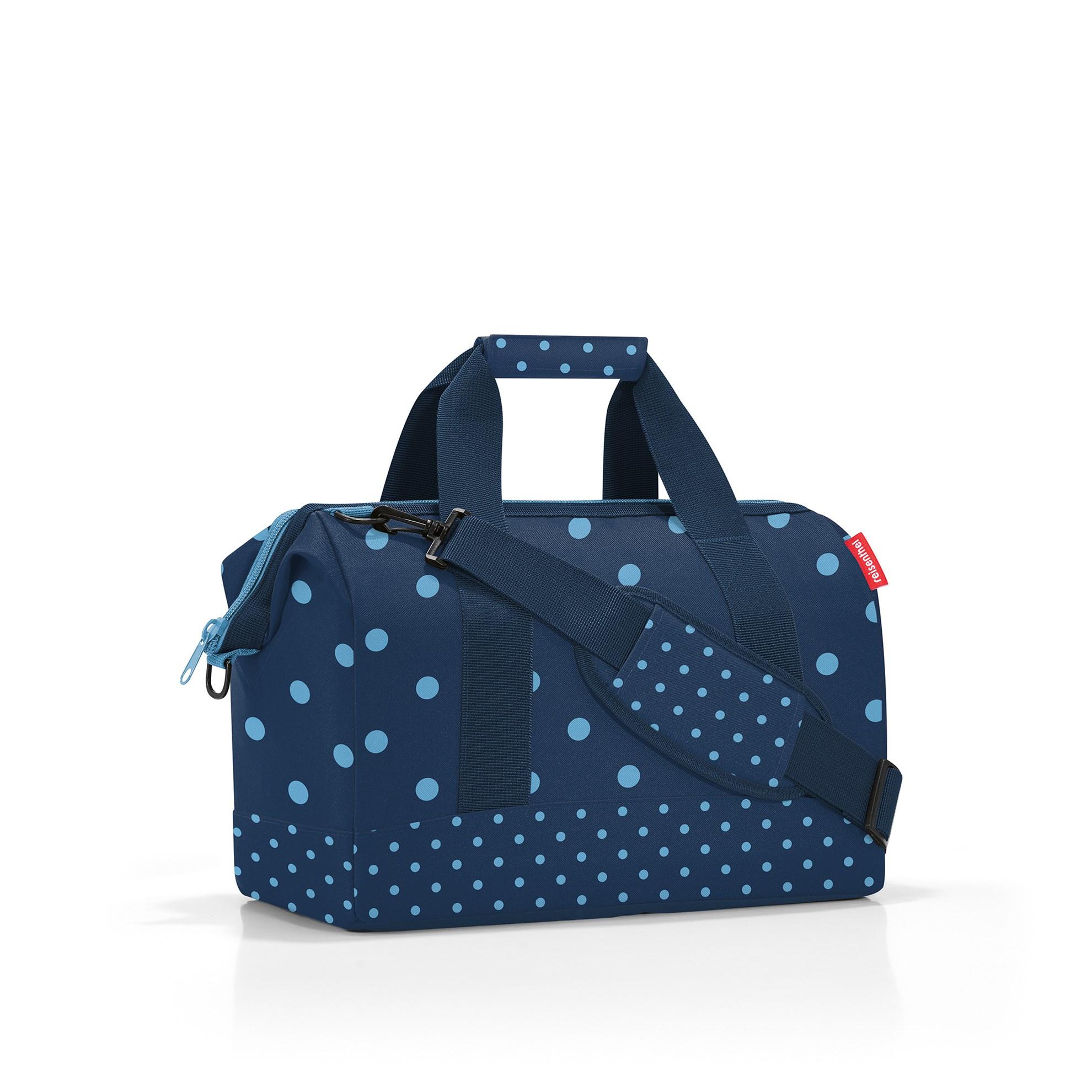 Cestovní taška Allrounder M mixed dots blue_1
