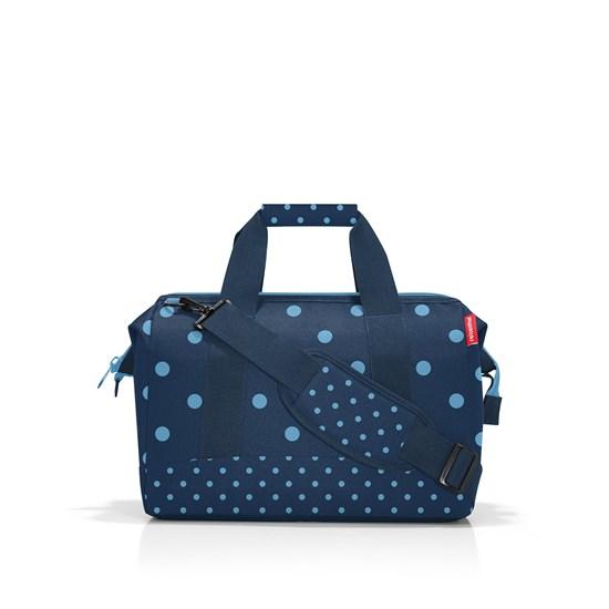 Cestovní taška Allrounder M mixed dots blue_2