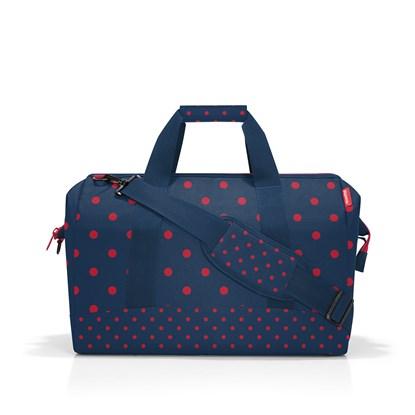 Cestovní taška Allrounder L mixed dots red_2