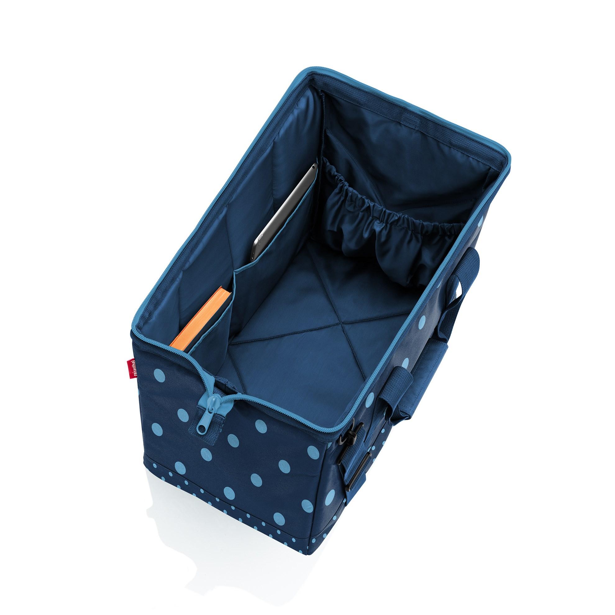 Cestovní taška Allrounder L mixed dots blue_0