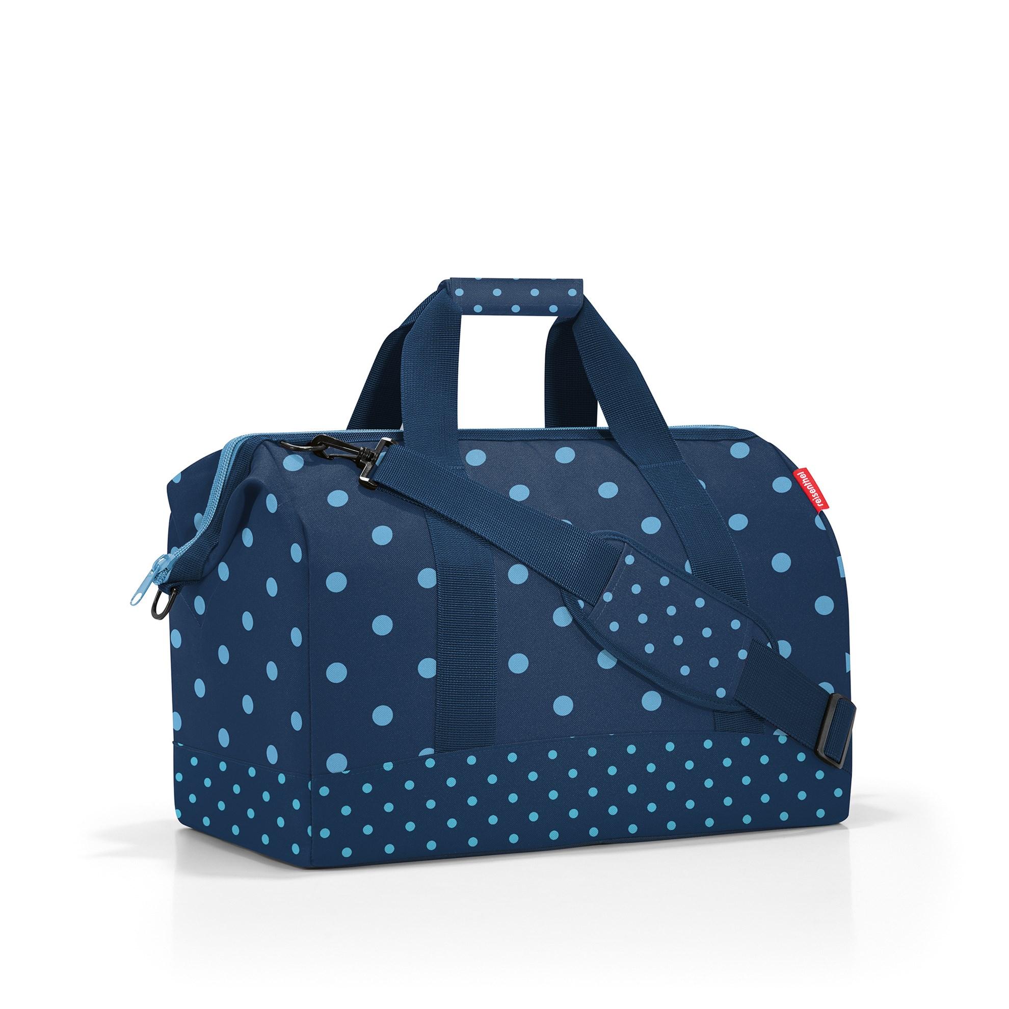 Cestovní taška Allrounder L mixed dots blue_1