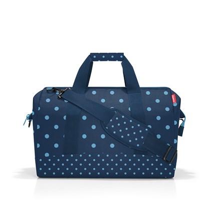 Cestovní taška Allrounder L mixed dots blue_2