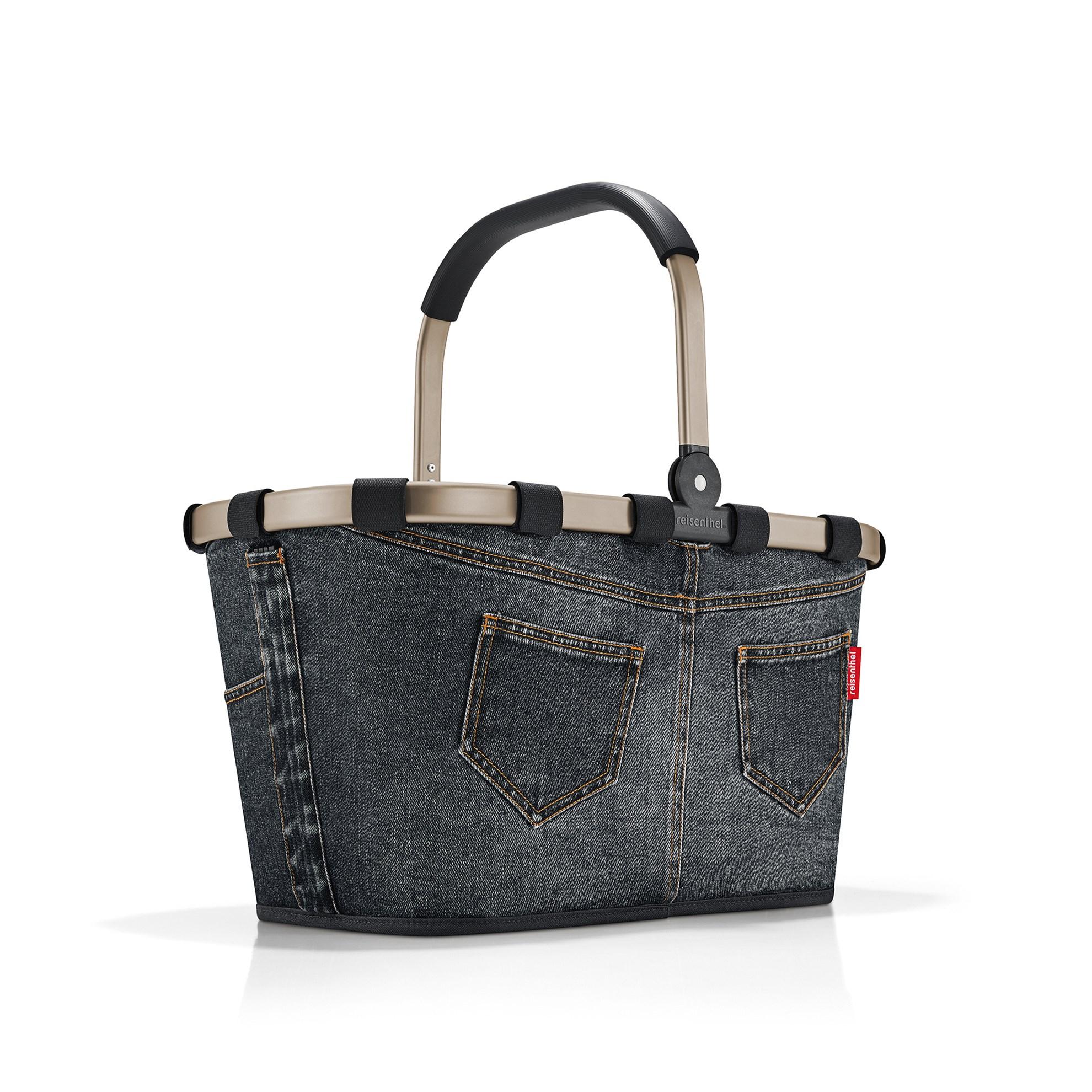 Nákupní košík Carrybag frame jeans dark grey_0