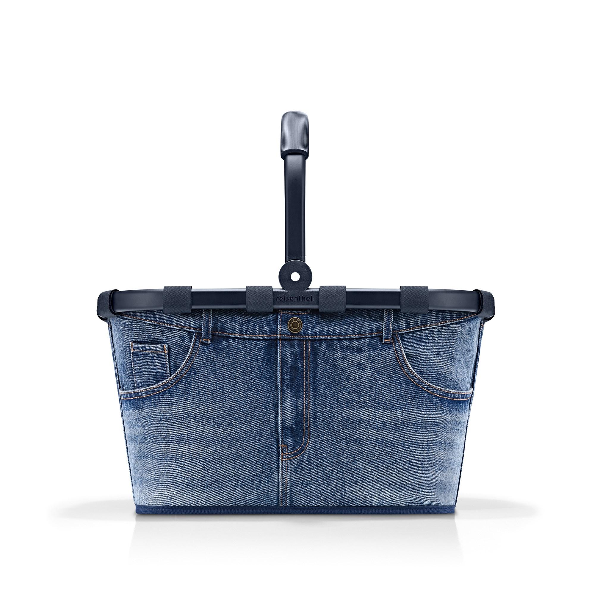 Nákupní košík Carrybag frame jeans classic blue_0