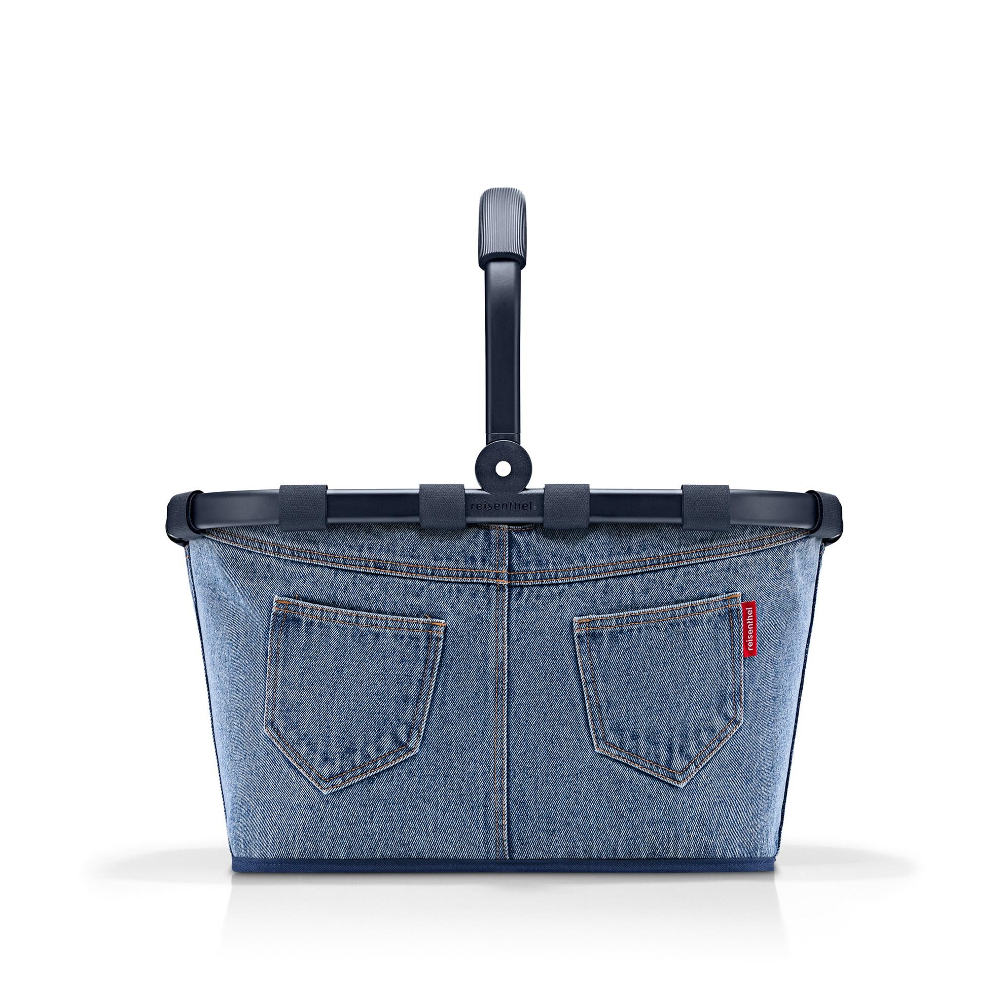 Nákupní košík Carrybag frame jeans classic blue_1