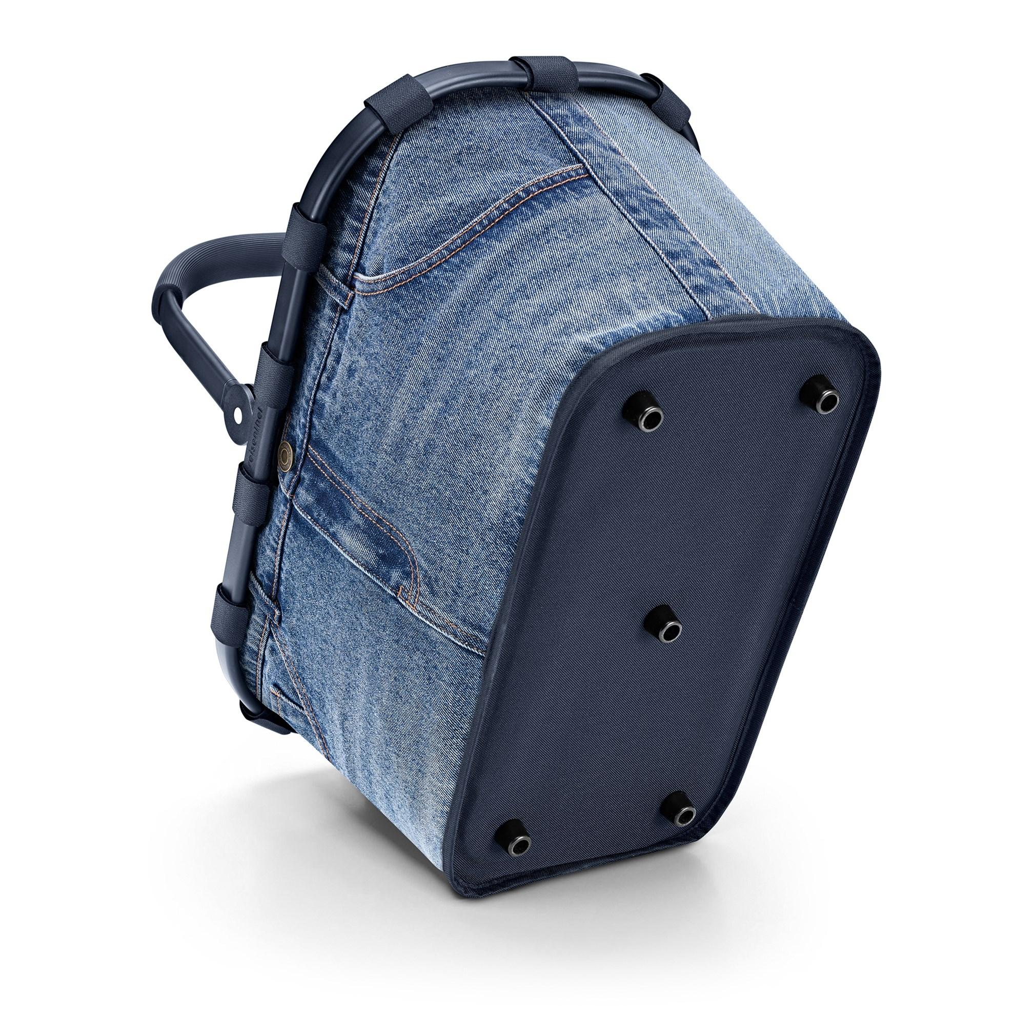 Nákupní košík Carrybag frame jeans classic blue_2