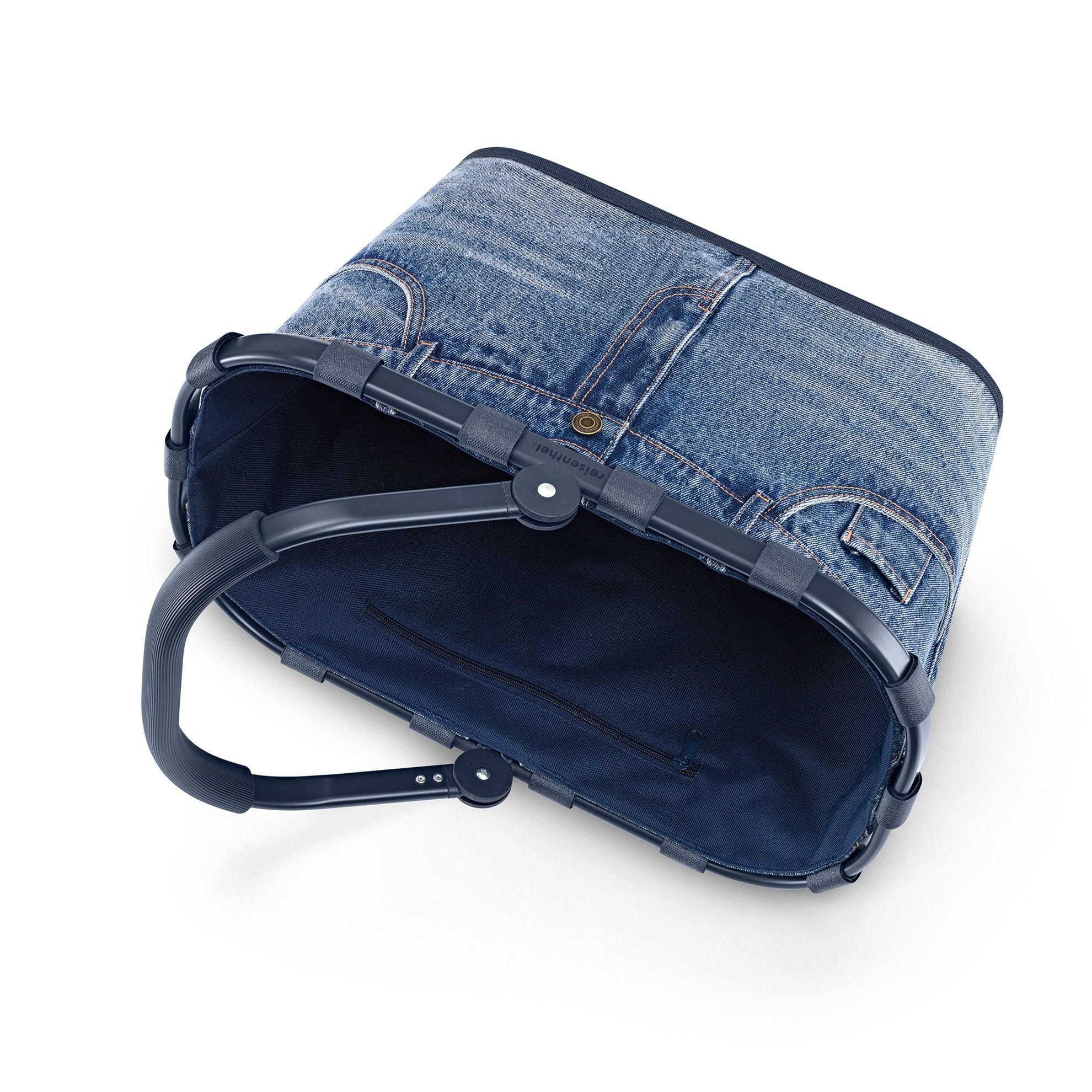 Nákupní košík Carrybag frame jeans classic blue_3