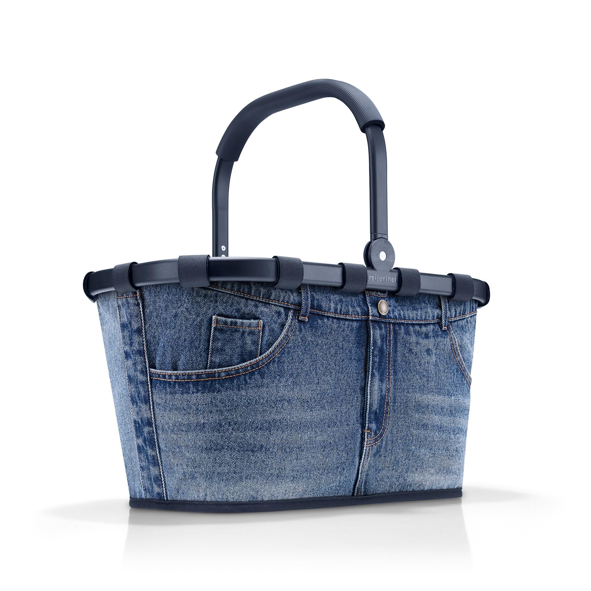 Nákupní košík Carrybag frame jeans classic blue_4