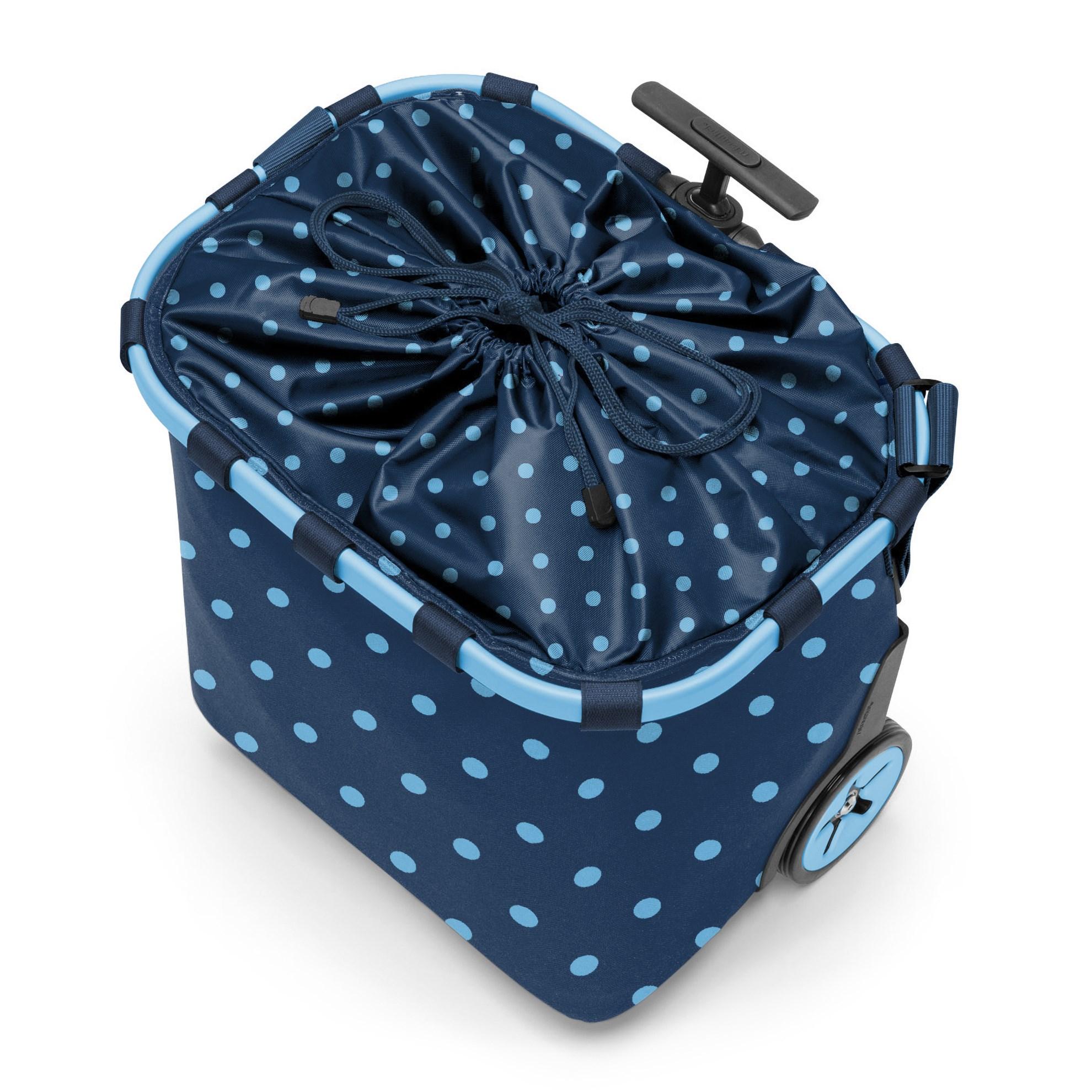 Taška na kolečkach Carrycruiser  frame mixed dots blue_0