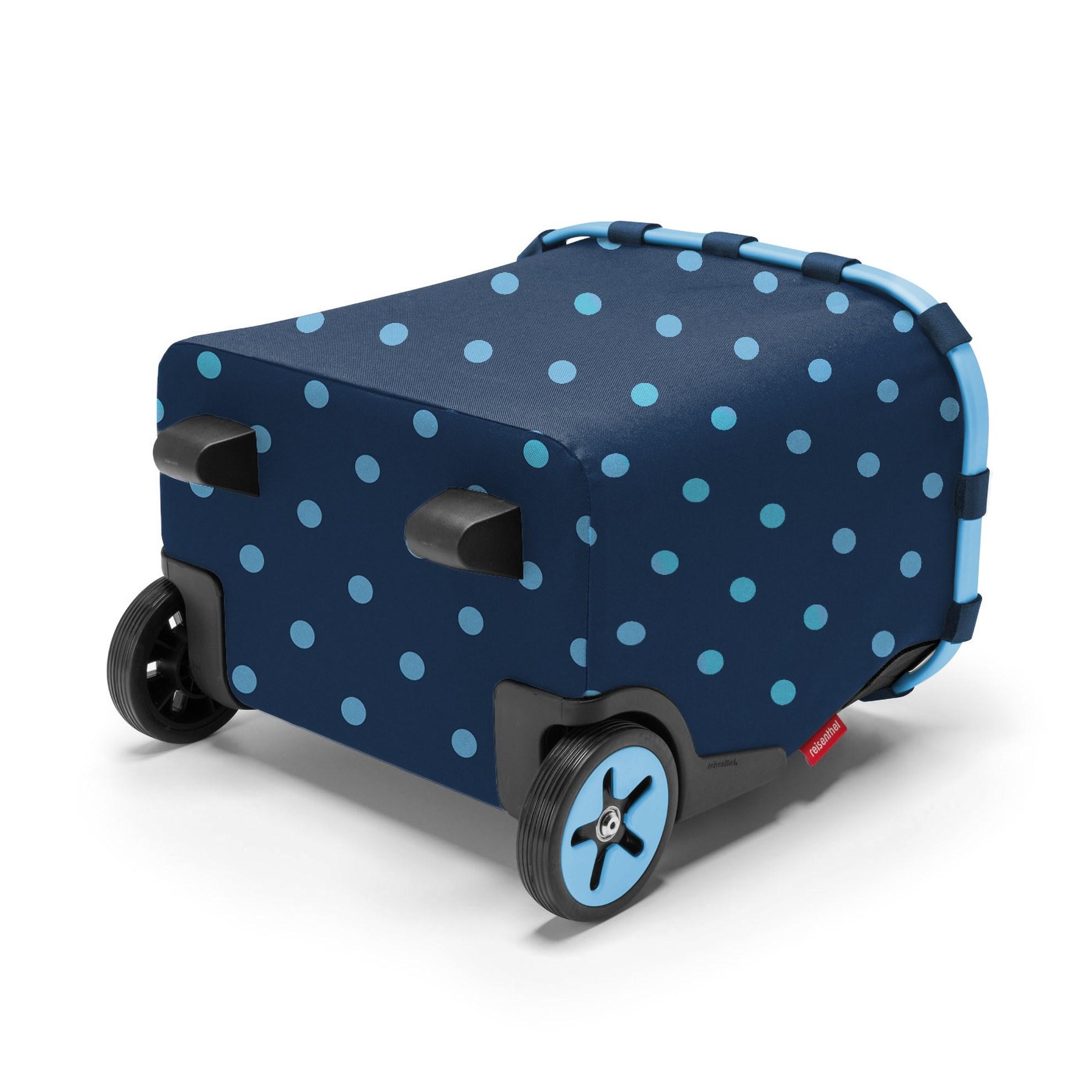 Taška na kolečkach Carrycruiser  frame mixed dots blue_2