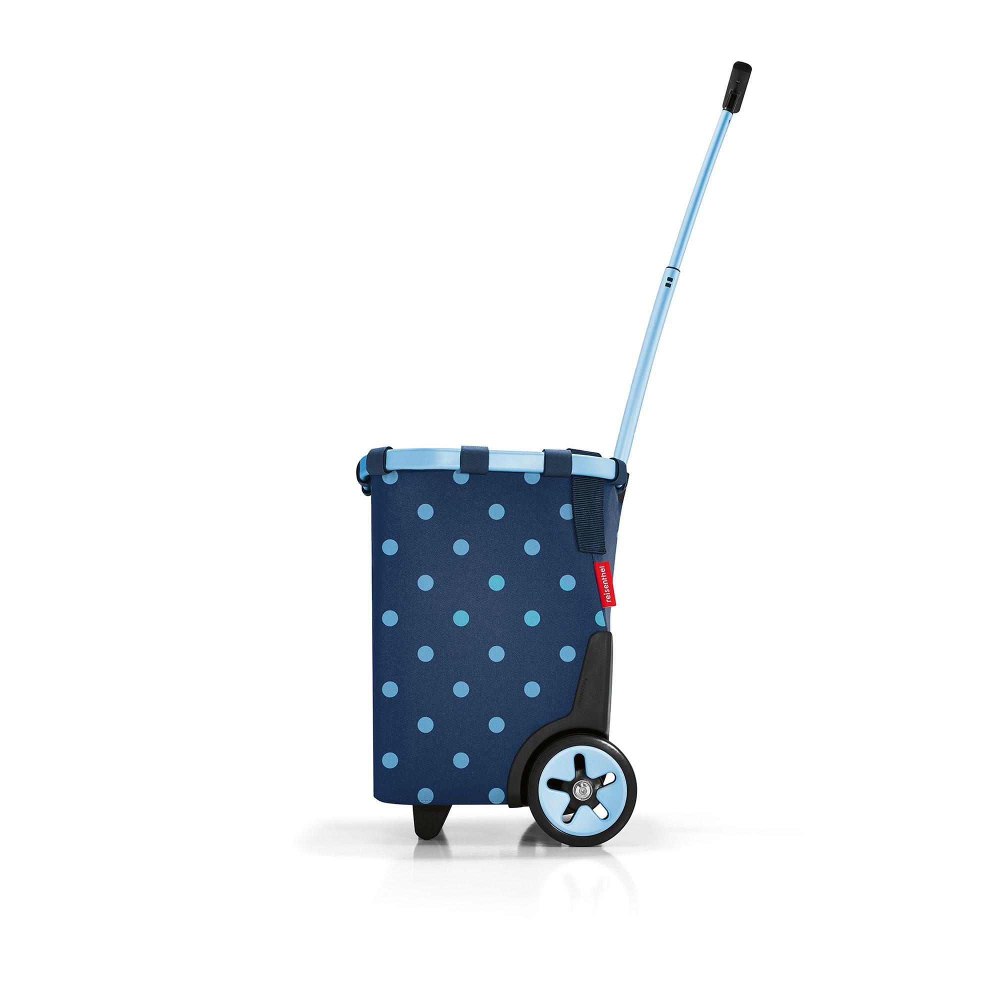 Taška na kolečkach Carrycruiser  frame mixed dots blue_3