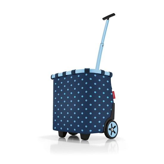 Taška na kolečkach Carrycruiser  frame mixed dots blue_4