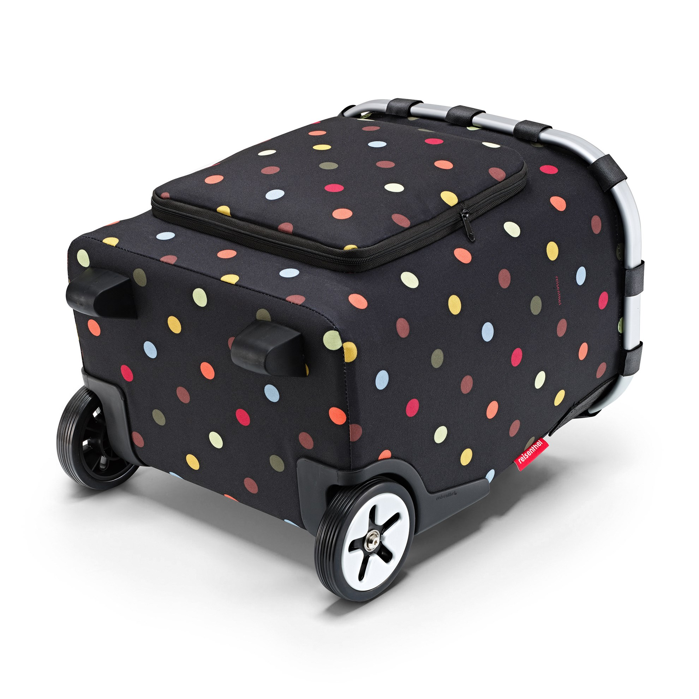 Taška na kolečkach Carrycruiser frame dots_2