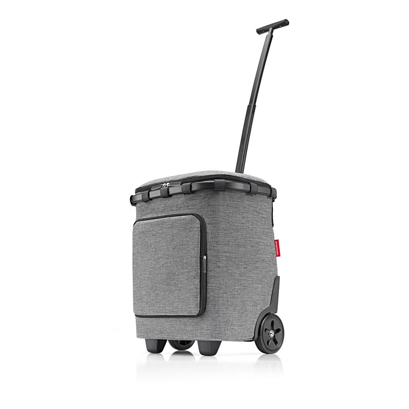 Taška na kolečkách Carrycruiser plus  frame twist silver_0