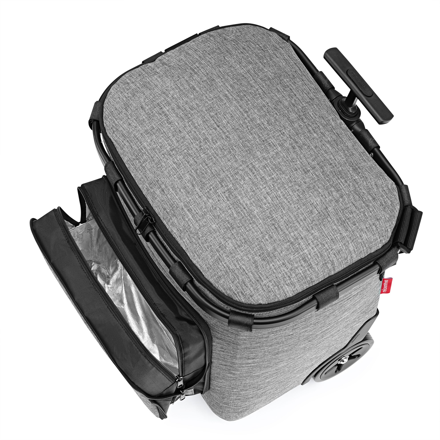 Taška na kolečkách Carrycruiser plus  frame twist silver_1