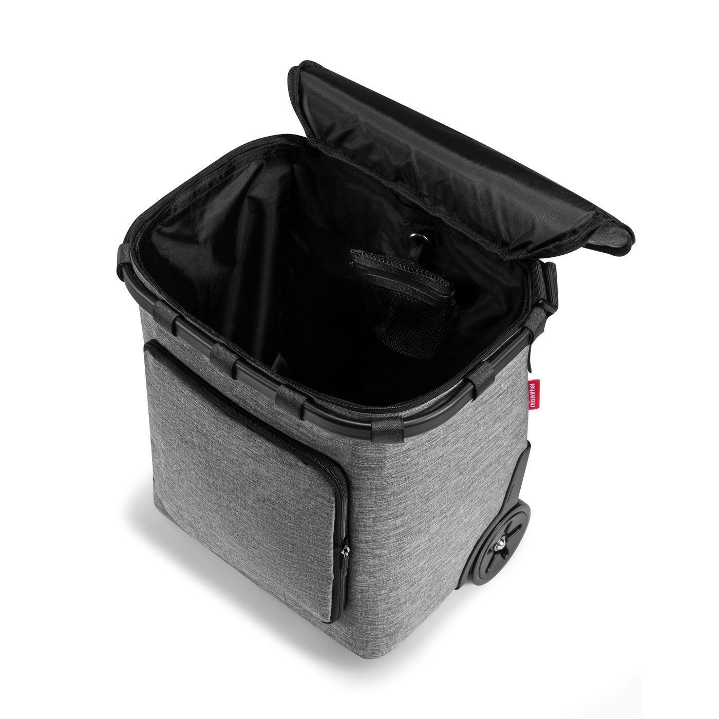 Taška na kolečkách Carrycruiser plus  frame twist silver_2