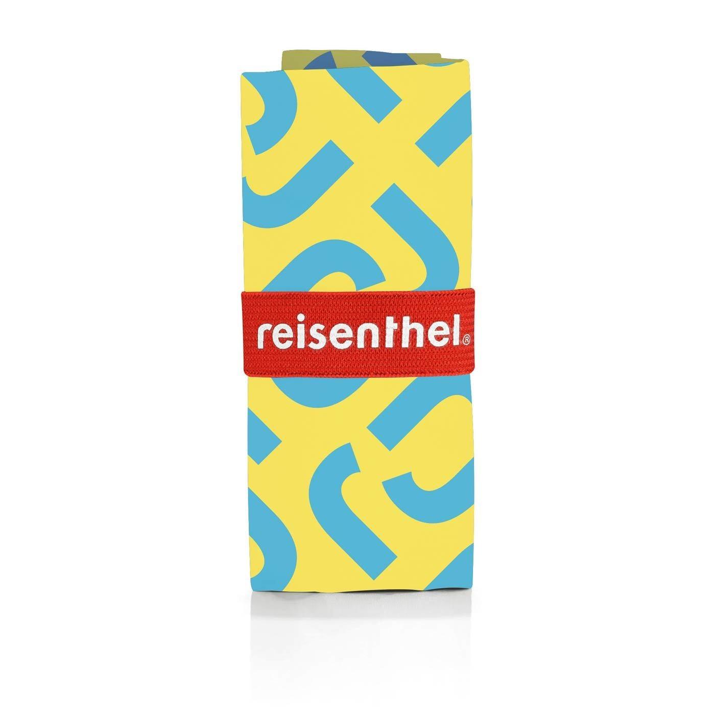 Skládací taška Mini Maxi Shopper signature lemon_0