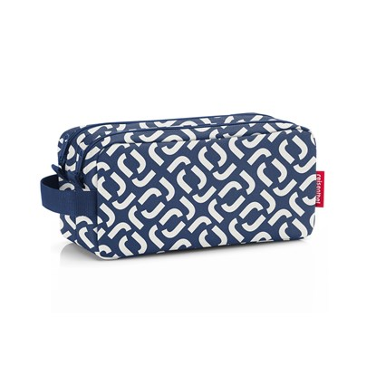 Kosmetická taška Duocase signature navy_0