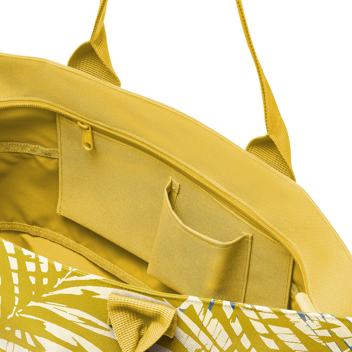 Chytrá taška přes rameno Shopper e1 jungle curry_0