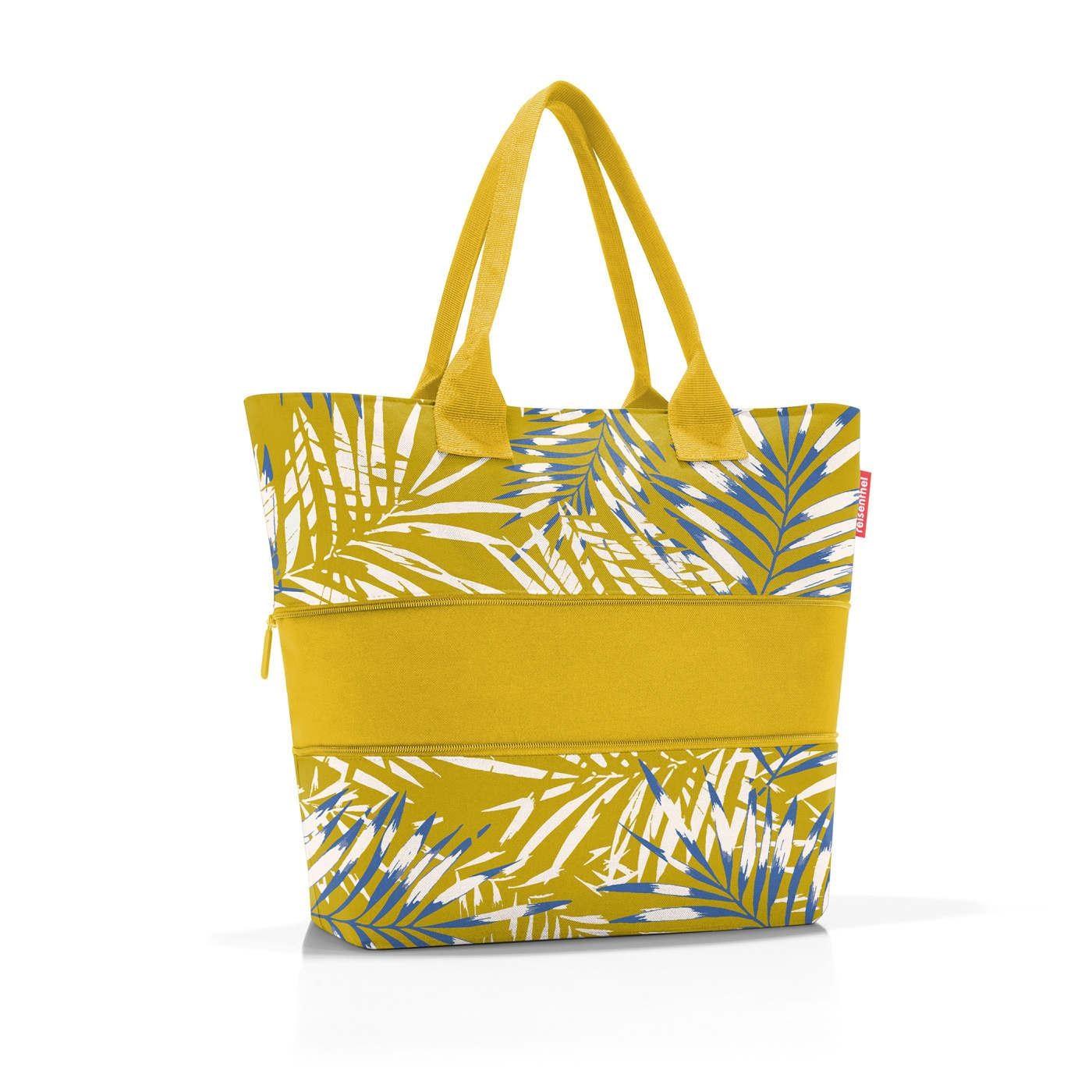 Chytrá taška přes rameno Shopper e1 jungle curry_1