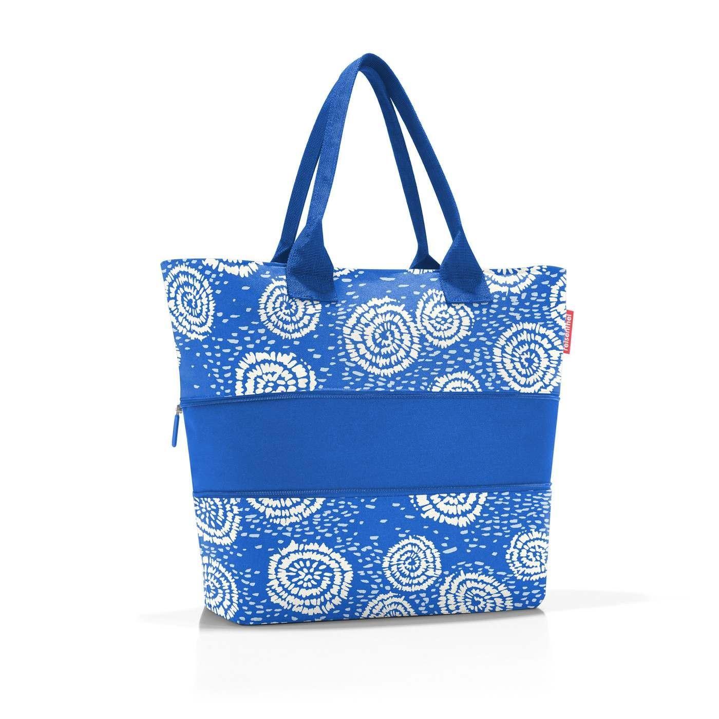 Chytrá taška přes rameno Shopper e1 batik strong blue_0