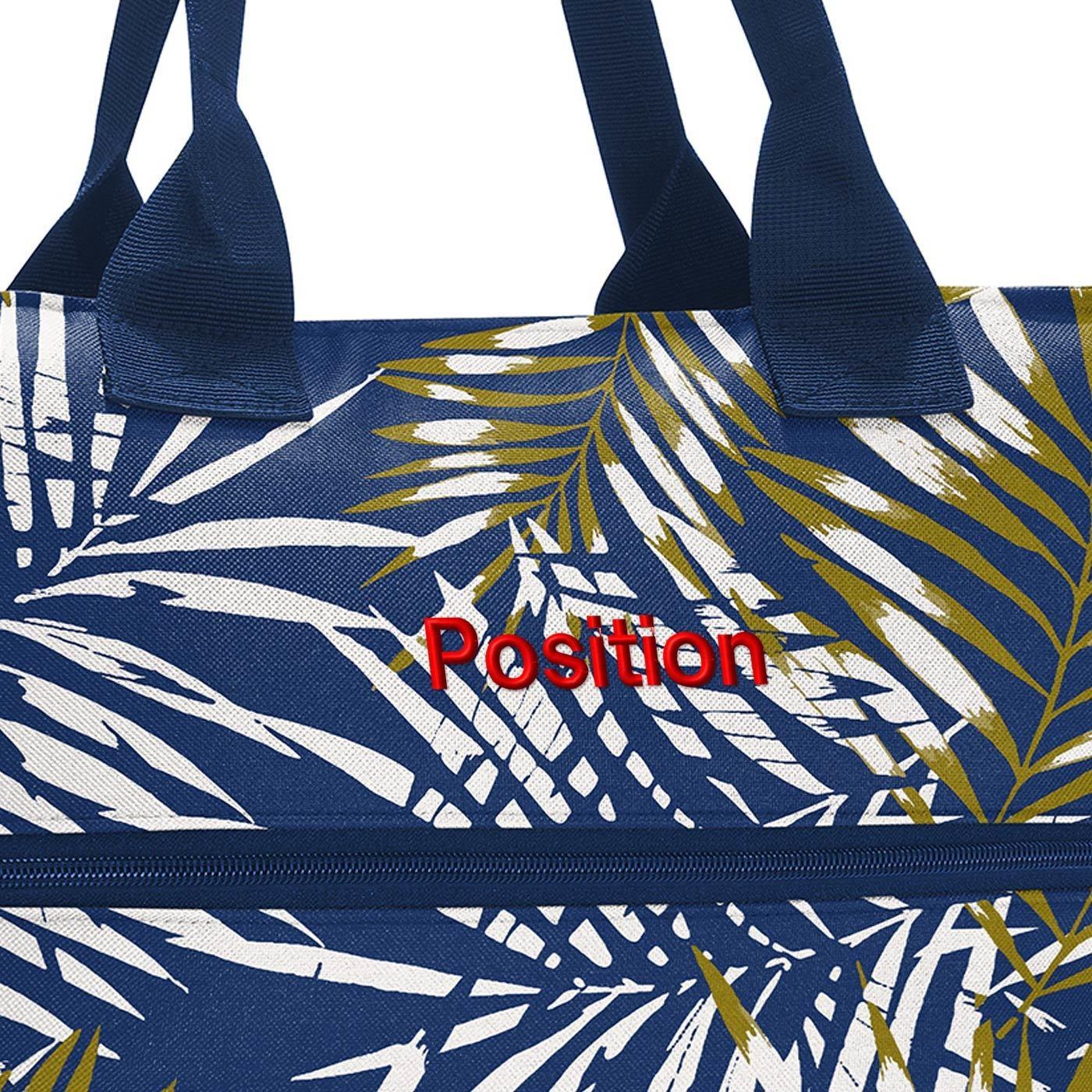 Chytrá taška přes rameno Shopper e1 jungle space blue_1