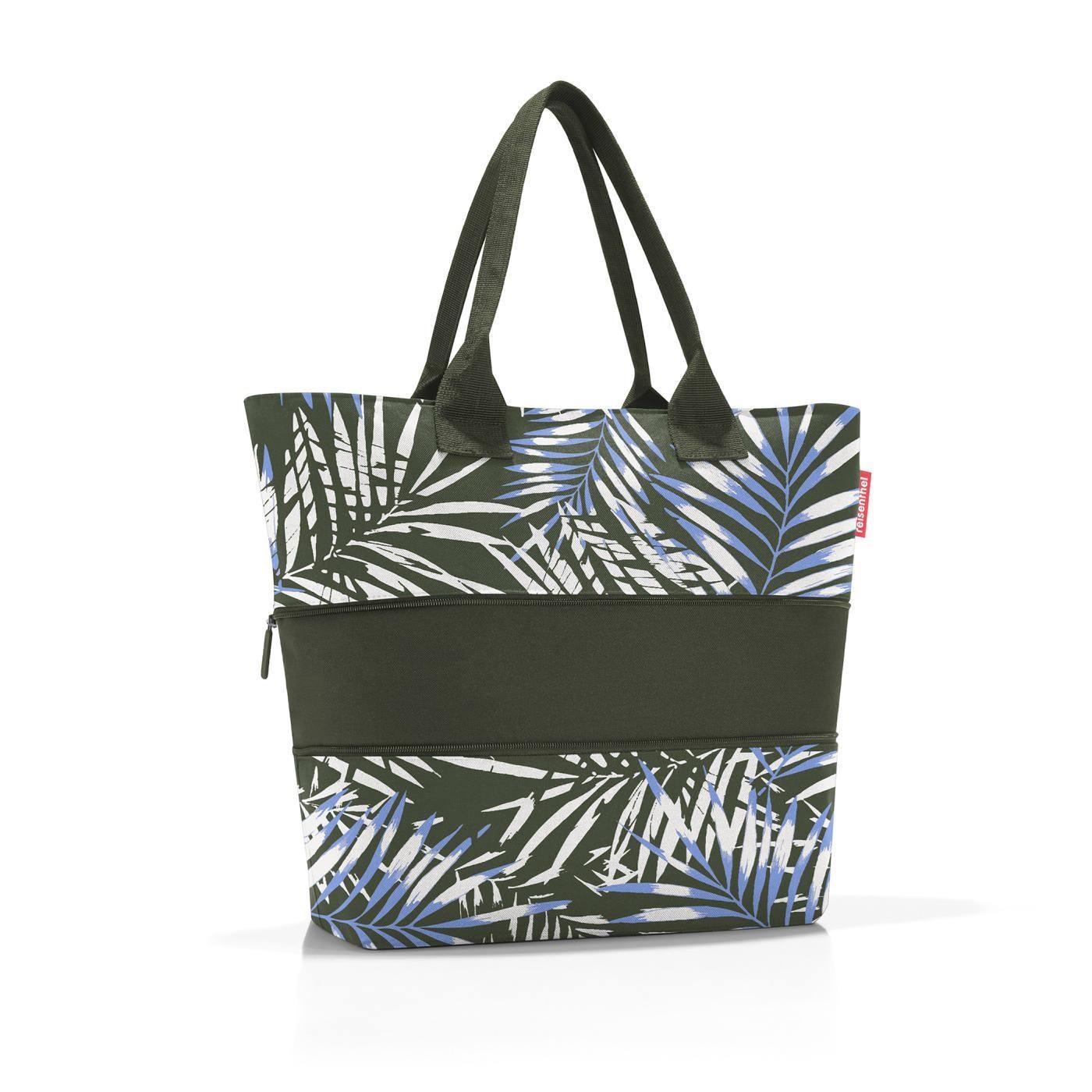 Chytrá taška přes rameno Shopper e1 jungle trail green_0