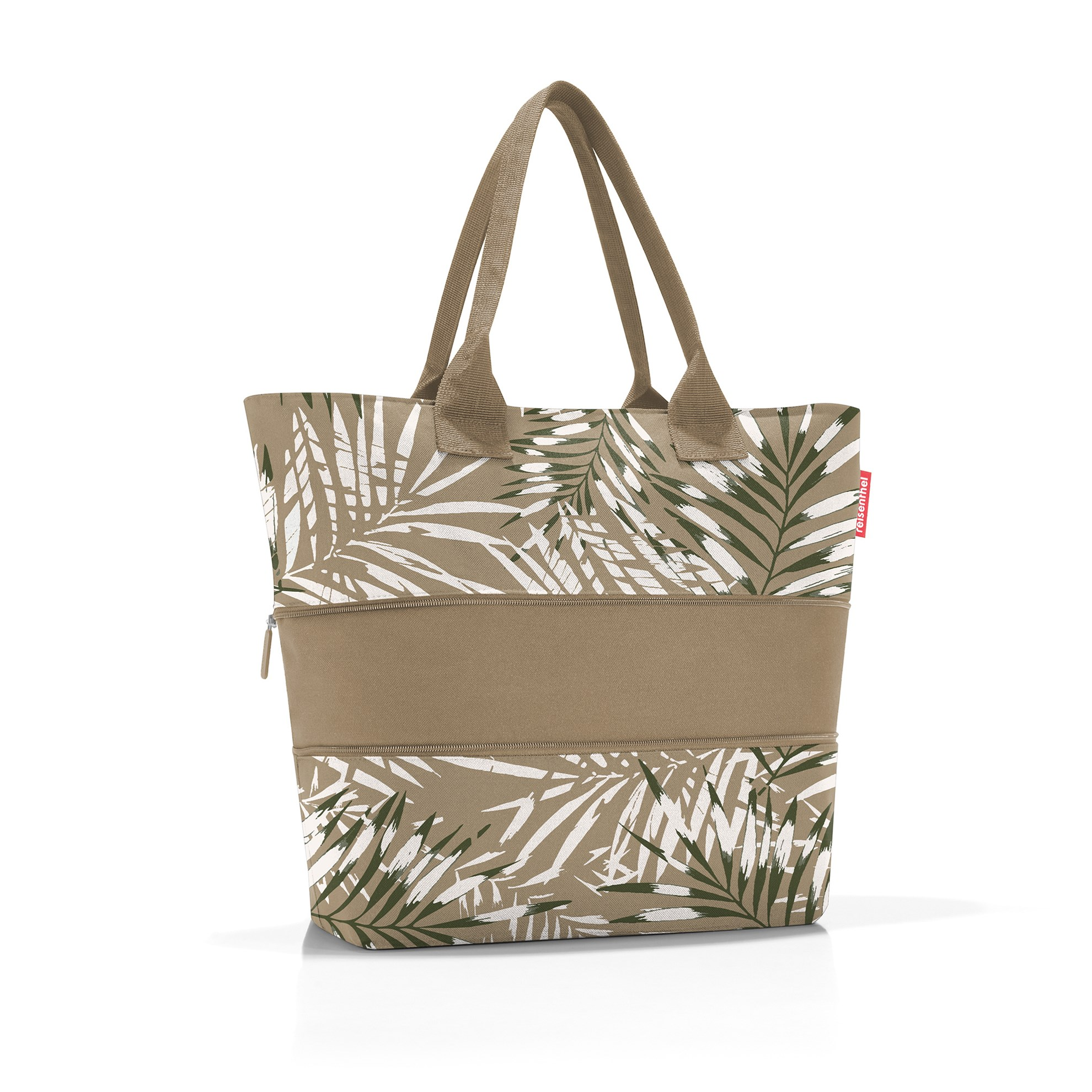 Chytrá taška přes rameno Shopper e1 jungle sand_1
