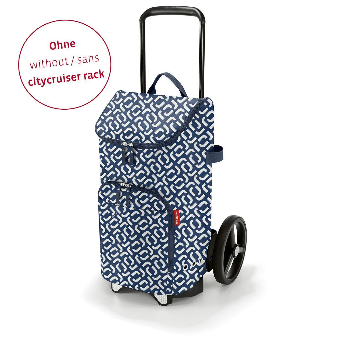 Městská taška Citycruiser Bag signature navy (bez vozíku DE7003!)_0