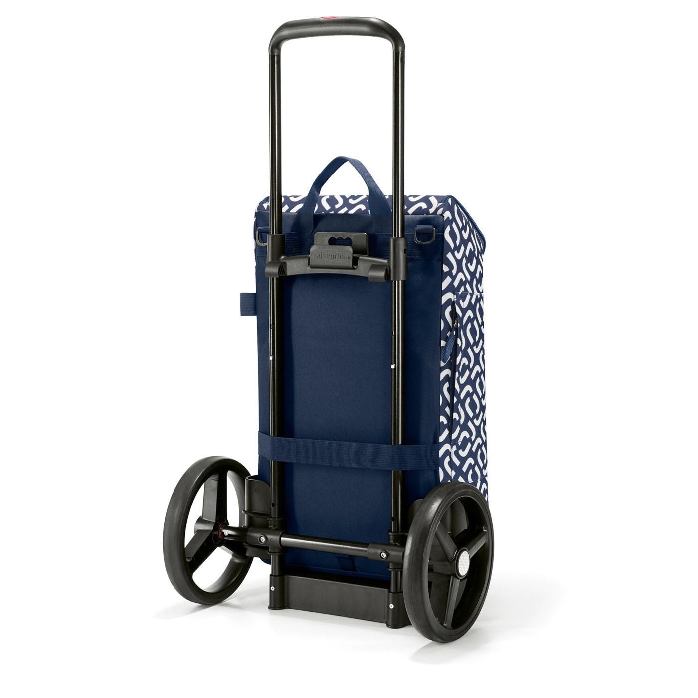 Městská taška Citycruiser Bag signature navy (bez vozíku DE7003!)_1