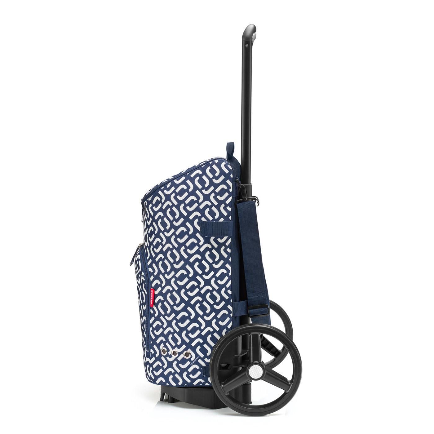 Městská taška Citycruiser Bag signature navy (bez vozíku DE7003!)_2