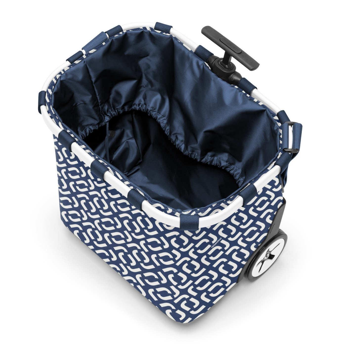 Taška na kolečkách Carrycruiser frame signature navy_1
