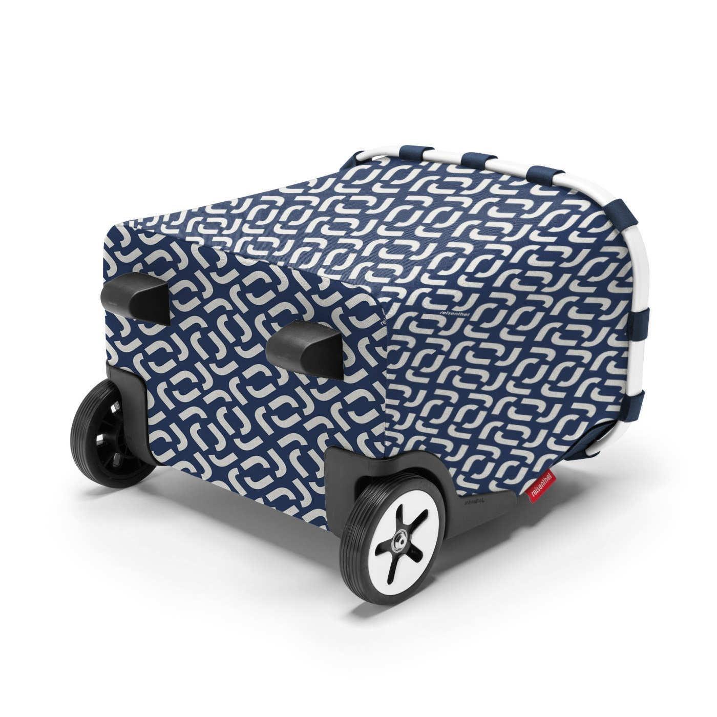 Taška na kolečkách Carrycruiser frame signature navy_2